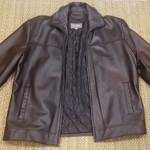 Wilson's Leather Black Leather Jacket